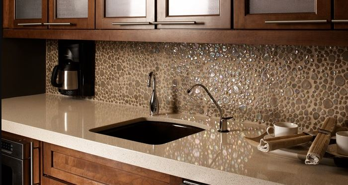 natural stone kitchen top