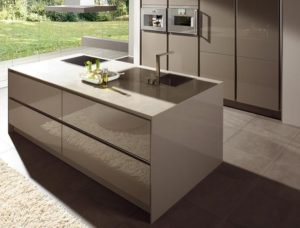 concrete kitchen top